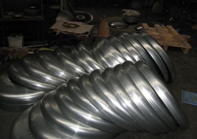 Domed Cylinder Ends