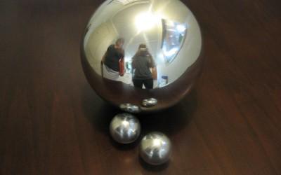 Highly Polished Aluminium Spheres