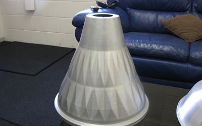 Aluminium Industrial Light Shade